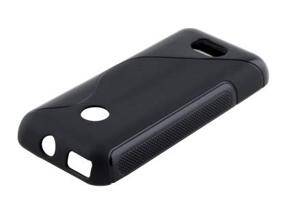 Nokia 208 Wave Case - Frosted Black/Black