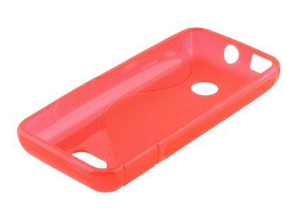 Nokia 208 Wave Case - Frosted Red/Red