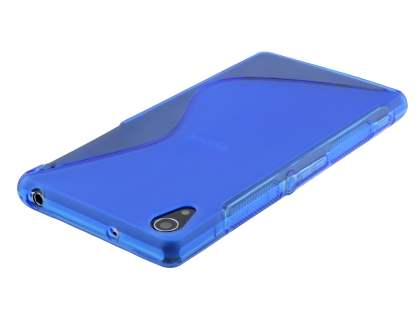 Sony Xperia Z2 Wave Case - Frosted Blue/Blue
