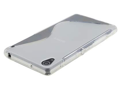 Sony Xperia Z2 Wave Case - Frosted Clear/Clear