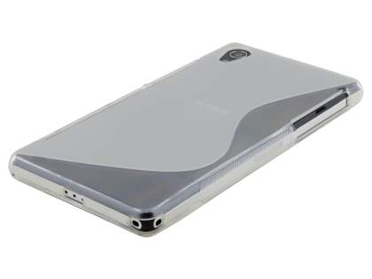 Wave Case for Sony Xperia Z2 - Frosted Clear/Clear