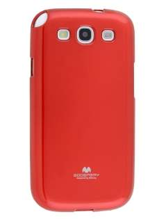 Mercury Glossy Gel Case for Samsung I9300 Galaxy S3 - Red Soft Cover