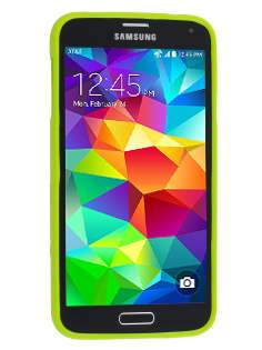 Mercury Goospery Glossy Gel Case for Samsung Galaxy S5 - Lime