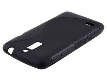 Huawei Ascend G526 Wave Case - Frosted Black/Black