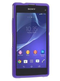 Mercury Glossy Gel Case for Sony Xperia Z1 Compact - Purple