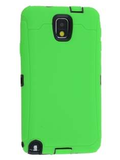 Defender Case for Samsung Galaxy Note 3 - Green