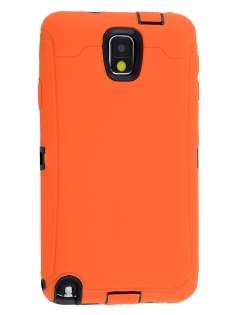 Samsung Galaxy Note 3 Defender Case - Orange