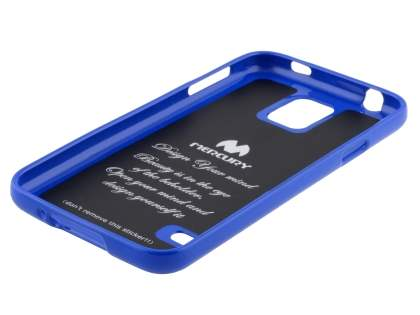 Mercury Goospery Glossy Gel Case for Samsung Galaxy S5 - Blue