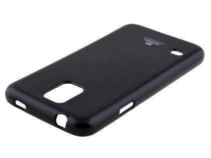 Mercury Glossy Gel Case for Samsung Galaxy S5 - Classic Black