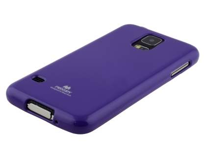 Mercury Glossy Gel Case for Samsung Galaxy S5 - Purple