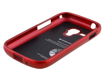 Mercury Glossy Gel Case for Samsung Galaxy Trend Plus S7583T - Red