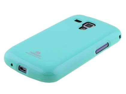 Mercury Goospery Glossy Gel Case for Samsung Galaxy Trend Plus S7583T - Mint Green