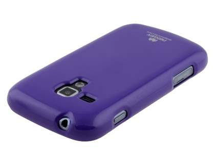 Mercury Glossy Gel Case for Samsung Galaxy Trend Plus S7583T - Purple