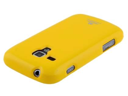 Mercury Glossy Gel Case for Samsung Galaxy Trend Plus S7583T - Canary Yellow