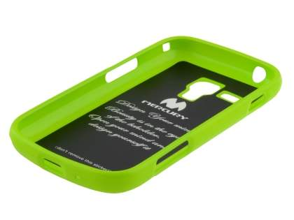 Mercury Glossy Gel Case for Samsung Galaxy Trend Plus S7583T - Lime