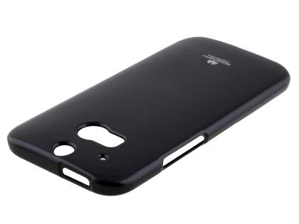 Mercury Glossy Gel Case for HTC One M8 - Classic Black