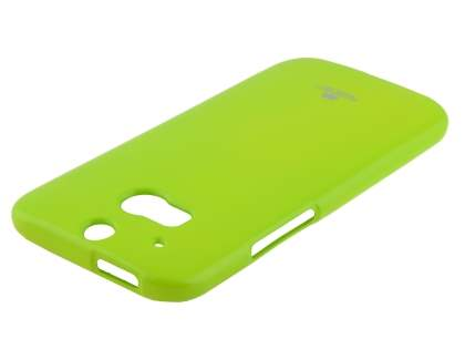 Mercury Goospery Glossy Gel Case for HTC One M8 - Lime