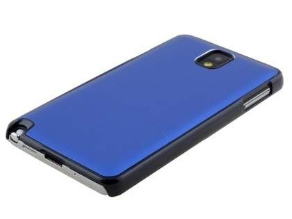 Brushed Aluminium Case for Samsung Galaxy Note 3 - Ocean Blue/Black