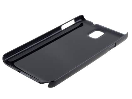 Brushed Aluminium Case for Samsung Galaxy Note 3 - Classic Black