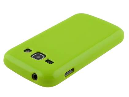 Samsung Galaxy Ace 3 4G S7275T Colour TPU Gel Case - Lime Green