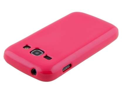 Colour TPU Gel Case for Samsung Galaxy Ace 3 4G S7275T - Coral