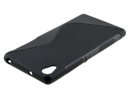 Wave Case for Sony Xperia Z2 - Frosted Black/Black