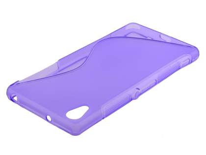 Wave Case for Sony Xperia Z2 - Frosted Purple/Purple