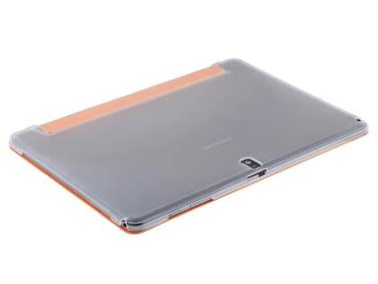 Samsung Galaxy Note Pro 12.2 Book-Style Case with Stand - Orange/Frosted Clear