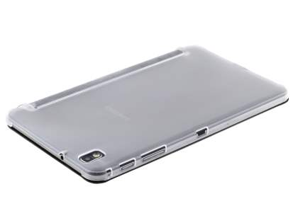 Samsung Galaxy Tab Pro 8.4 Book-Style Case with Stand - Black/Frosted Clear