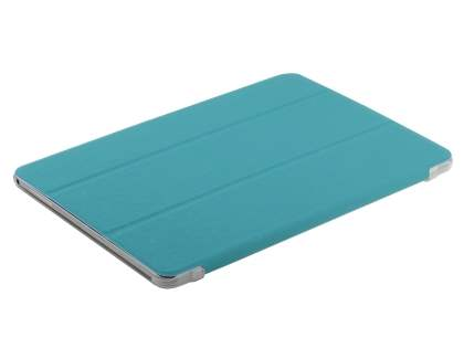 Samsung Galaxy Tab Pro 10.1 Book-Style Case with Stand - Teal/Frosted Clear