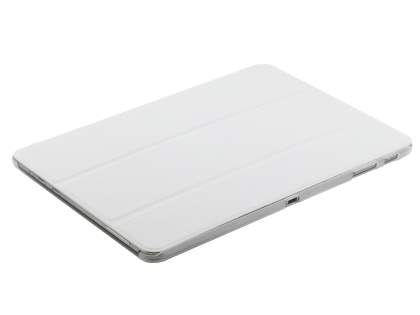 Samsung Galaxy Tab Pro 10.1 Book-Style Case with Stand - White/Frosted Clear