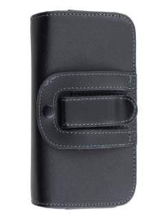 Extra-tough Genuine Leather ShineColours belt pouch - Naked Mobile Only