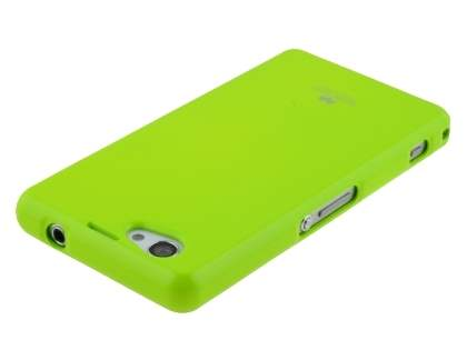 Mercury Glossy Gel Case for Sony Xperia Z1 Compact - Lime
