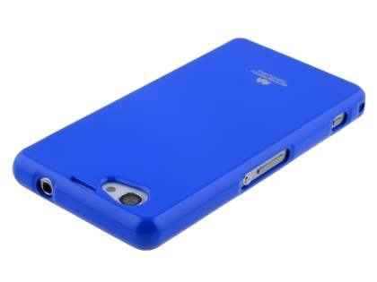 Mercury Goospery Glossy Gel Case for Sony Xperia Z1 Compact - Blue
