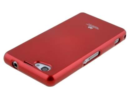 Mercury Goospery Glossy Gel Case for Sony Xperia Z1 Compact - Red