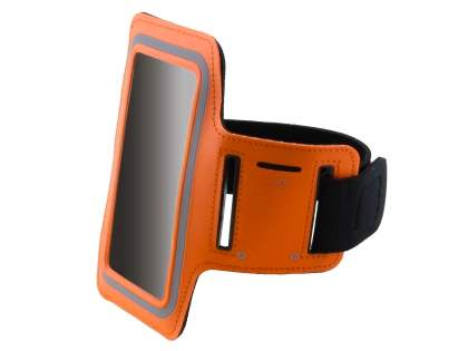 Universal Sports Arm Band for Samsung Galaxy Note 3 - Orange Sports Arm Band