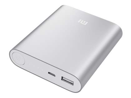 Xiaomi 10400 mAh External Battery Recharger - Light Grey Power Bank