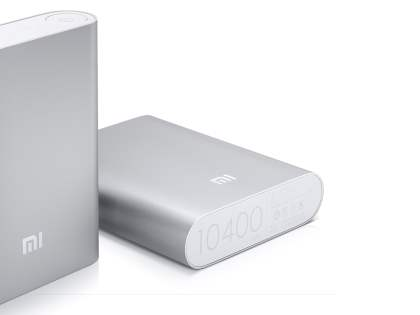 Xiaomi 10400 mAh External Battery Recharger - Light Grey