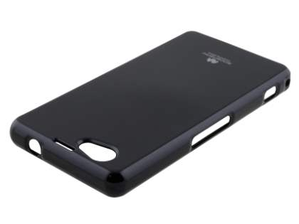 Mercury Glossy Gel Case for Sony Xperia Z1 Compact - Classic Black