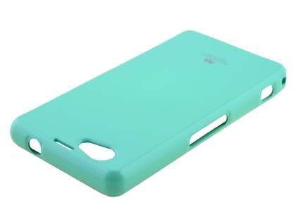 Mercury Glossy Gel Case for Sony Xperia Z1 Compact - Mint Green