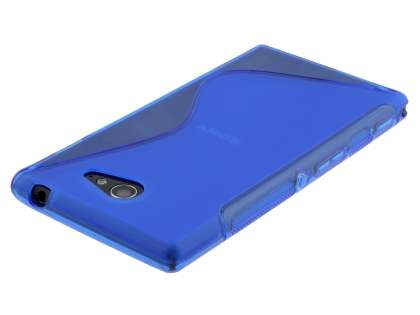 Sony Xperia M2 Wave Case - Frosted Blue/Blue