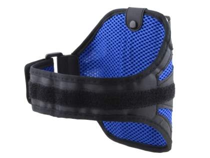 Sports Arm Band for Samsung Galaxy Note 3 - Black/Navy Blue