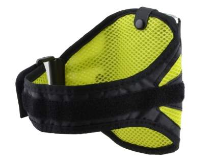 Universal Sports Armband for Phones - Black/Canary Yellow