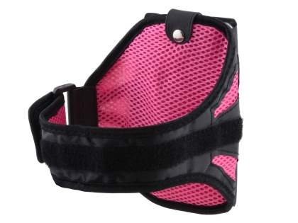 Universal Sports Armband for Phones - Black/Pink