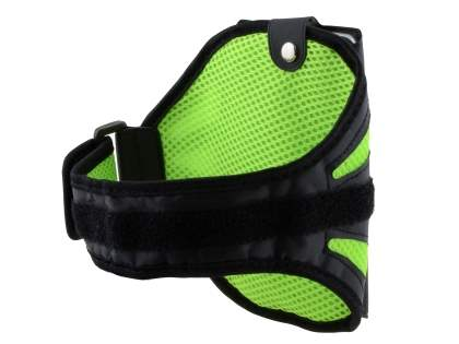 Universal Sports Armband for Phones - Black/Green