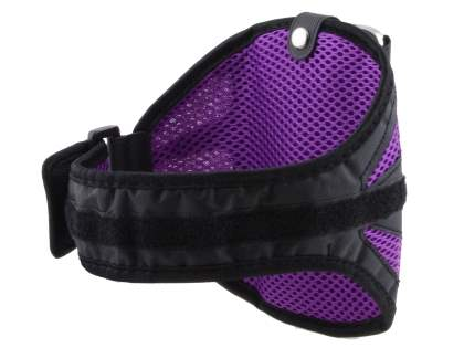 Sports Arm Band for Sony Xperia Z - Black/Purple