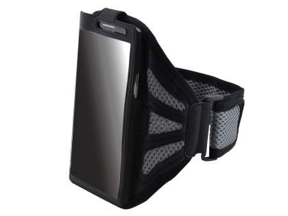 Sports Arm Band for LG G2 - Black/Grey Sports Arm Band