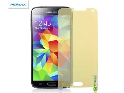 MOMAX Crystal Deluxe HD & AF Screen Protector for Samsung Galaxy S5
