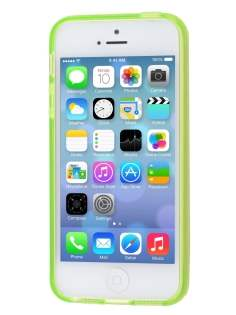 Apple iPhone SE/5s/5 Frosted TPU Gel Case - Light Green