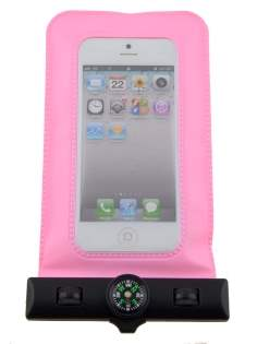 Waterproof Phone Bag - Baby Pink Miscellaneous
